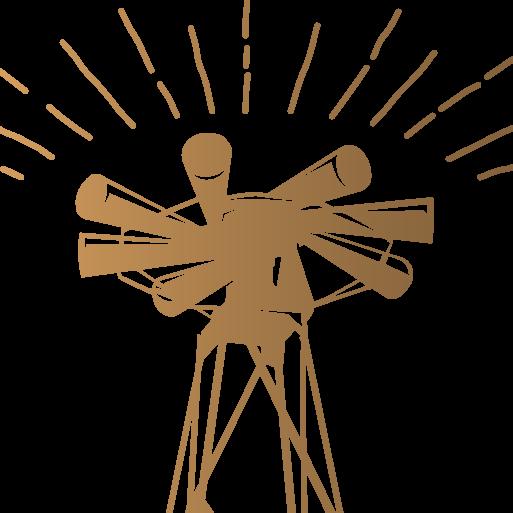 Emblème logo Tambouille